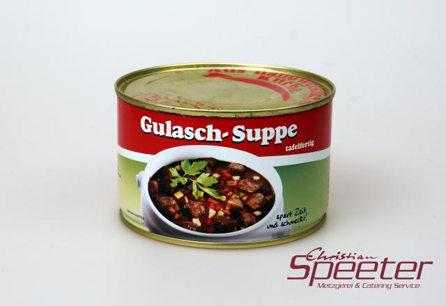 Produkt -Gulaschsuppe 400g